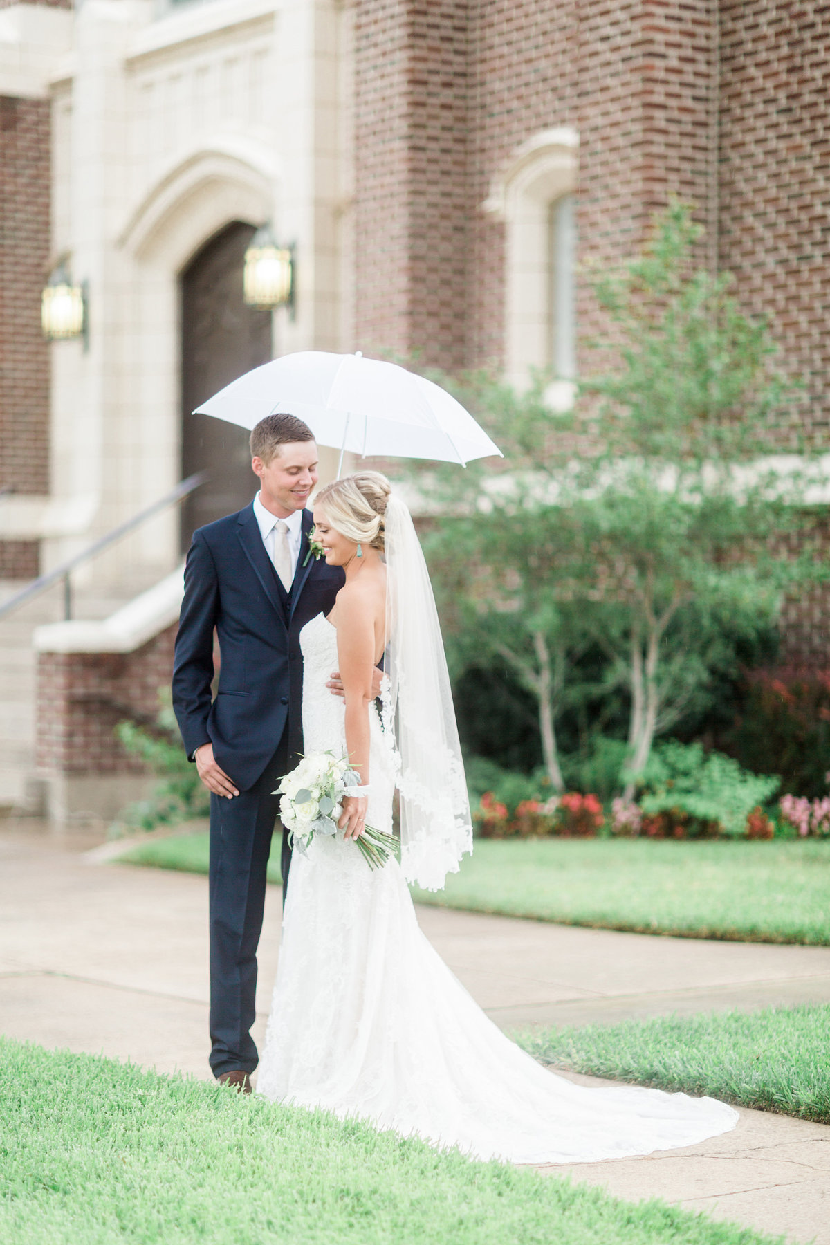Ardmore Convention Center Wedding Rain