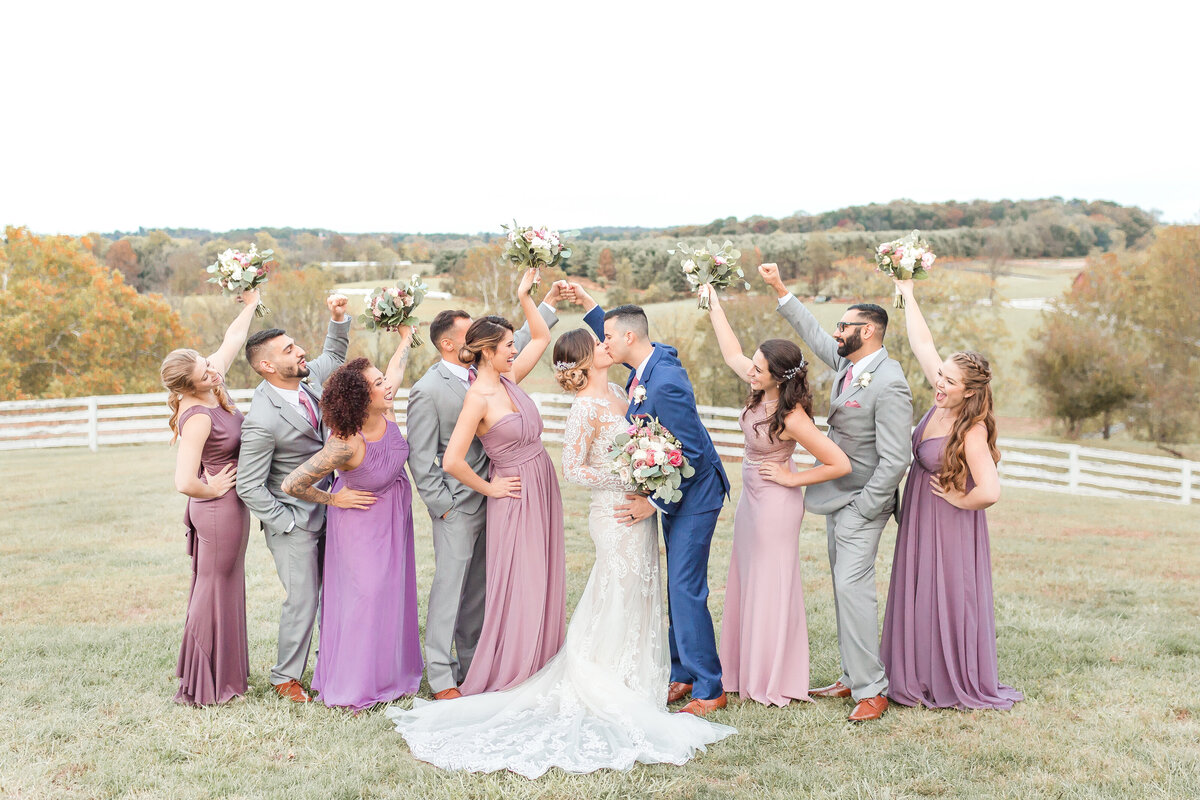 Blue Hill Farm Wedding Photos