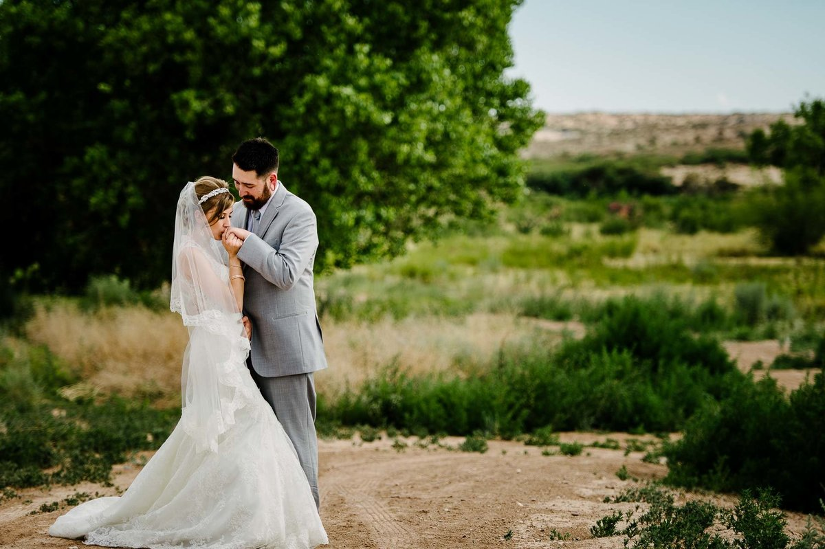 wedding portrait in el paso