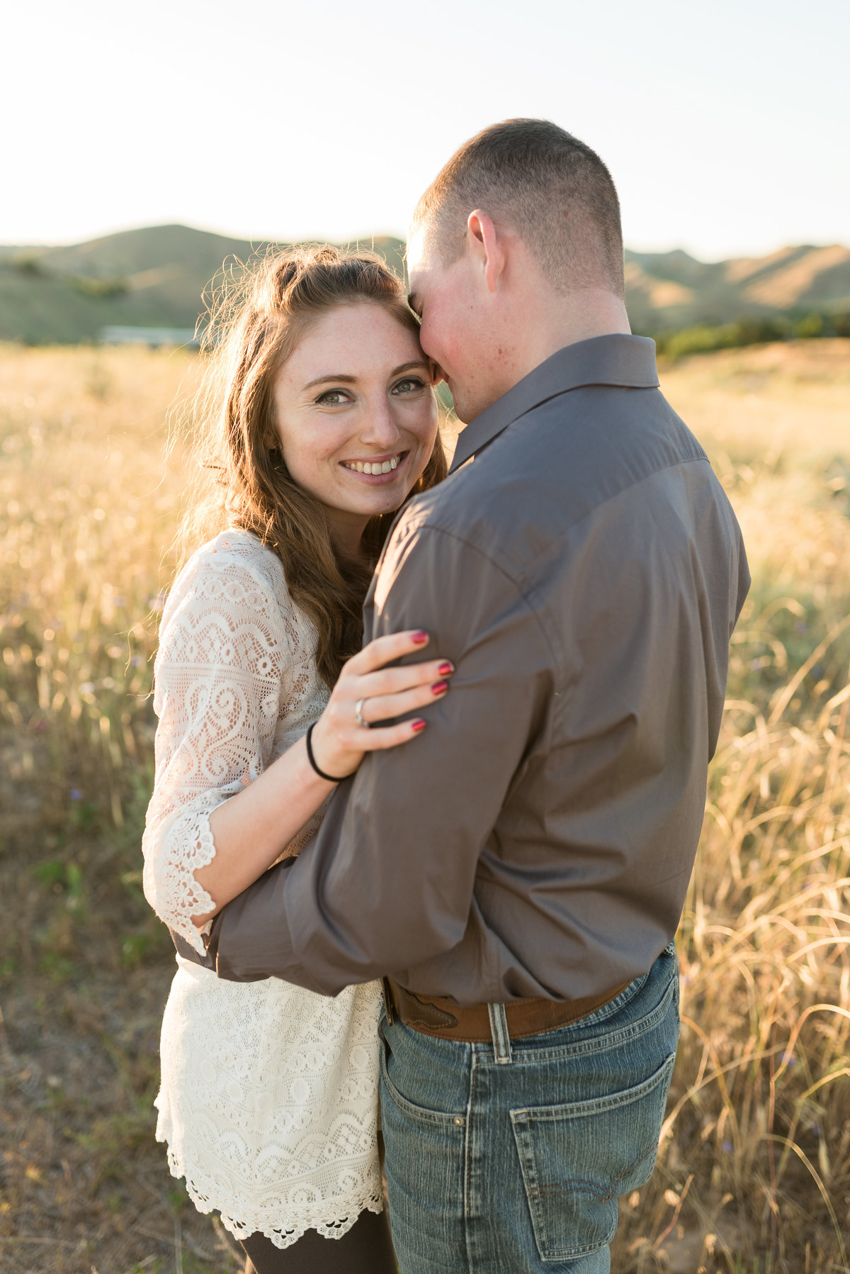 Spring Boise Foothills Engagement Shoot05