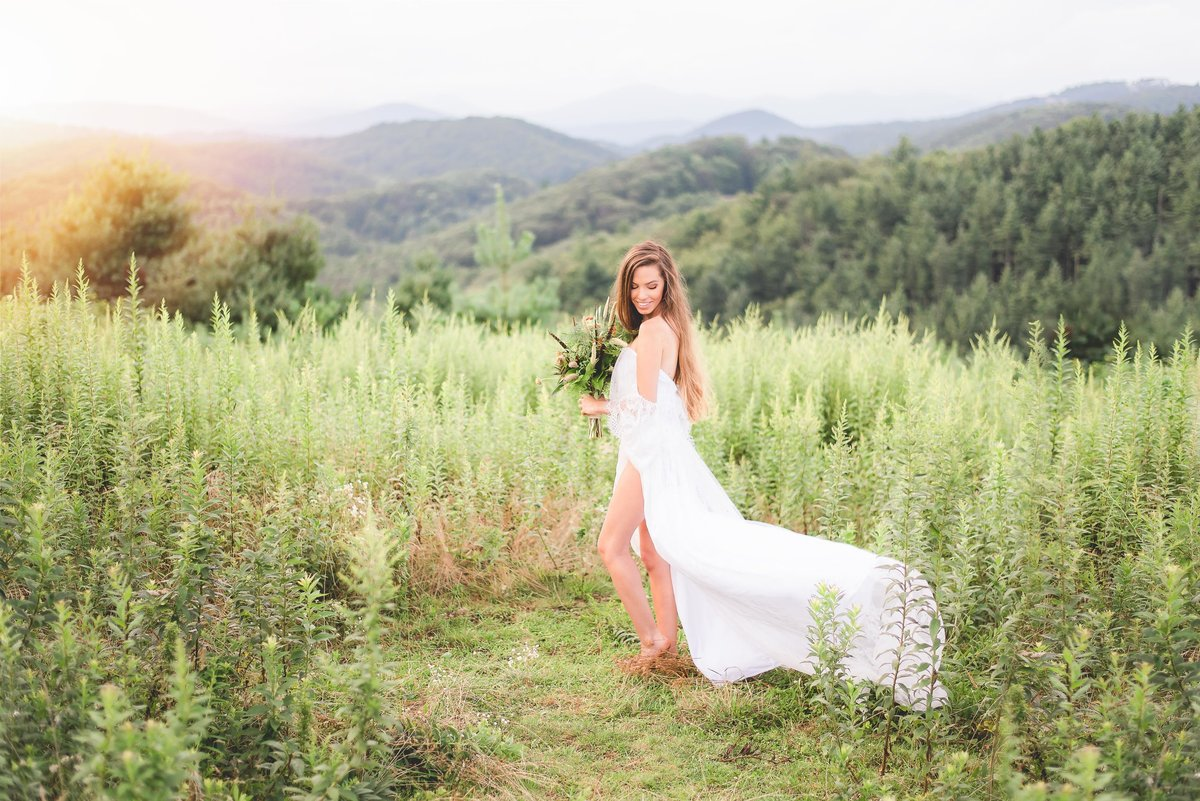 wv and nc wedding photographer outdoors mountain beckley wv bridal-13