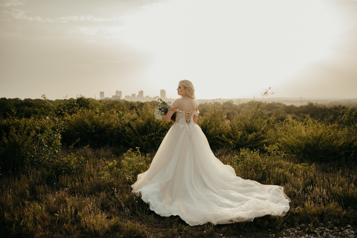 fort worth nature bridal session