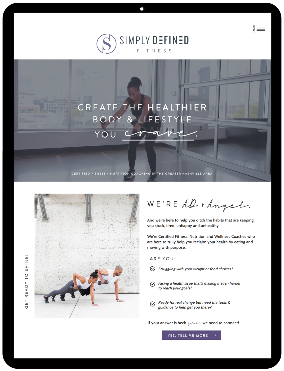Simply-Defined-Fitness-Showit-Template