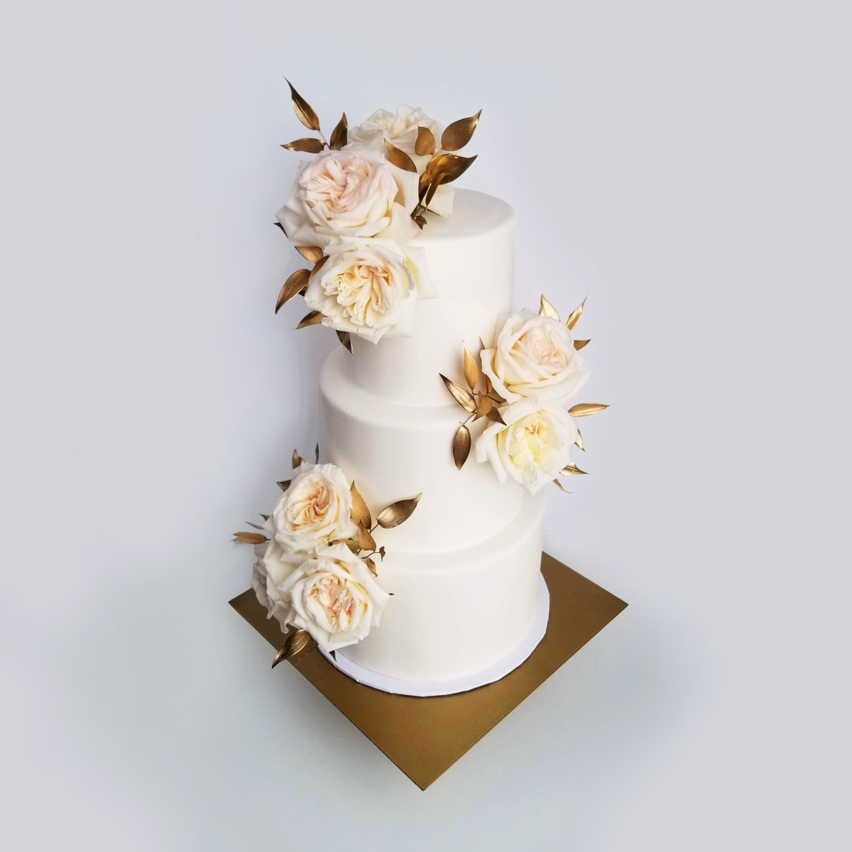 Whippt Desserts - Wedding Cake Oct 2018 - Flowers by Fleurish