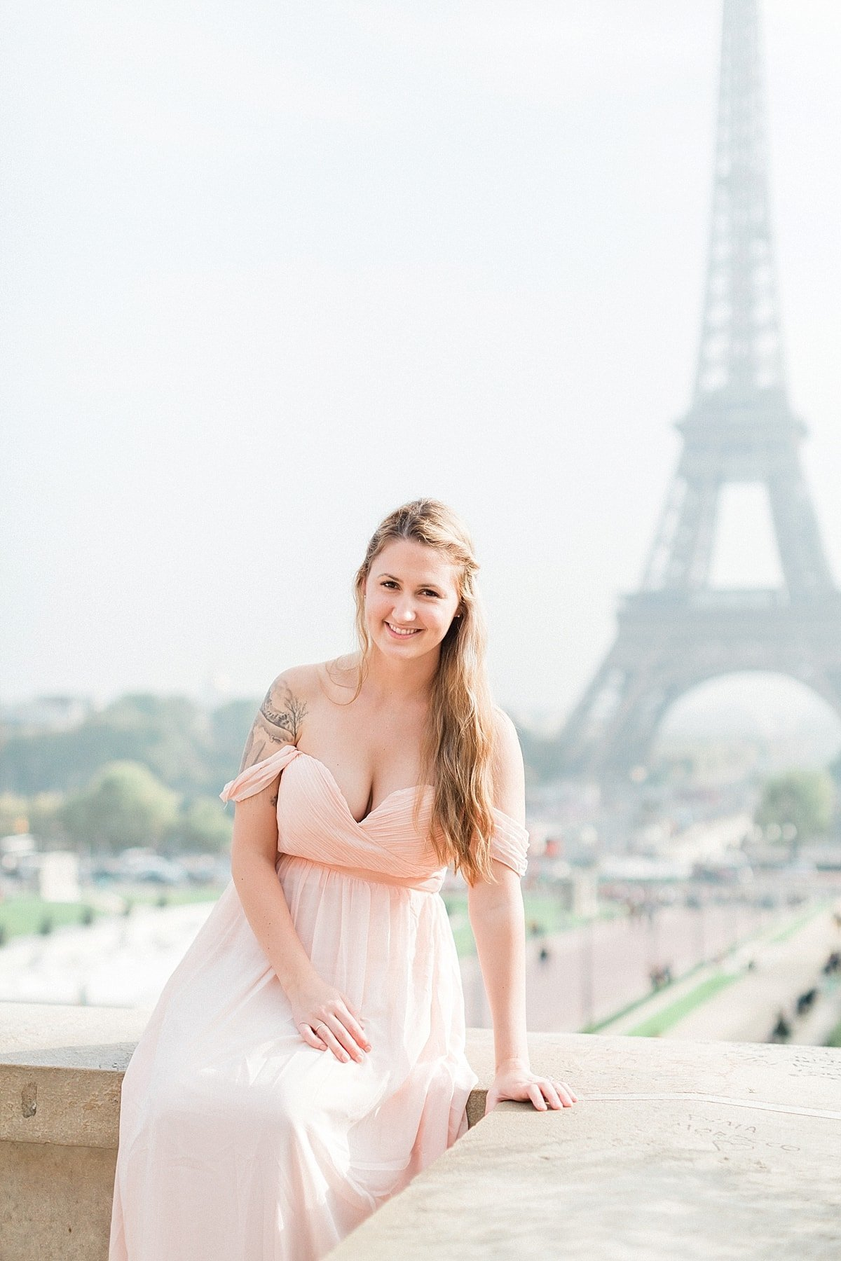 Paris France Anniversary Session photographed at the Eiffel Tower by France Destination Wedding Photographer, Alicia Yarrish Photography