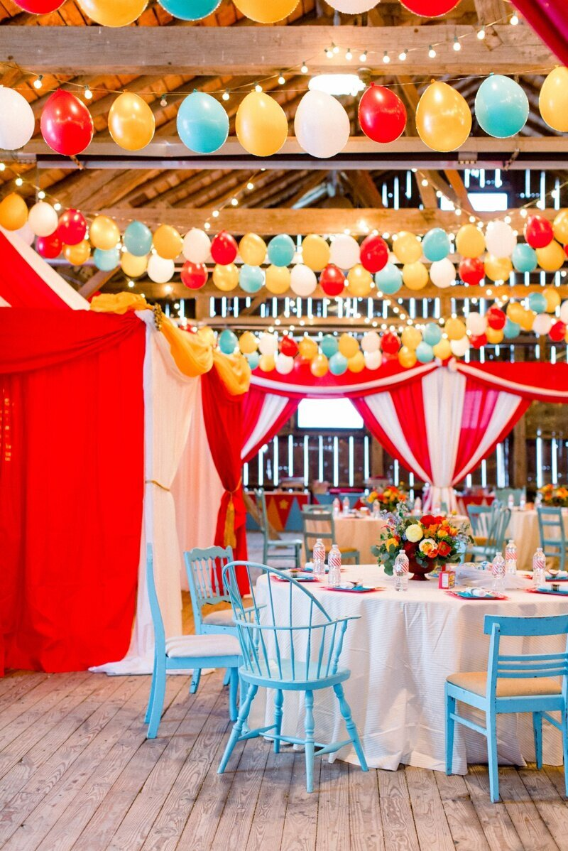 Circus Themed 1st Birthday Indianapolis Party Planner_0009