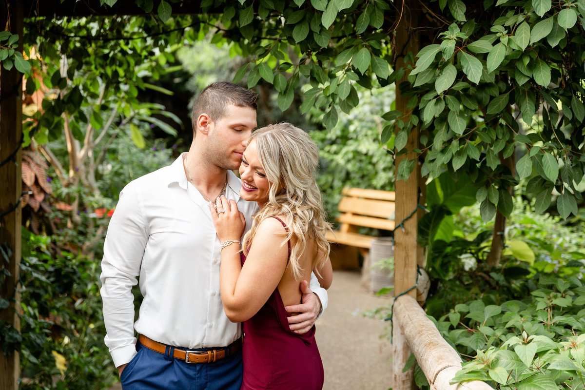 Cambridge Butterfly Conservatory Engagement Photography | Dylan and Sandra Photography 036