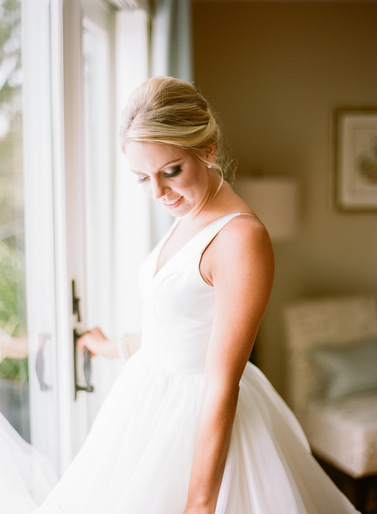Alexis in Modern Trousseau Charleston Wedding Ball Gown