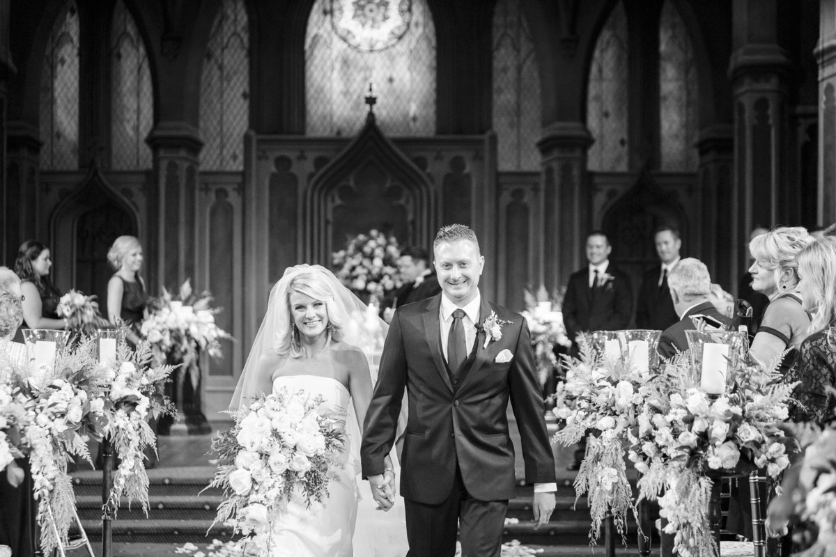 Indianapolis Scottish Rite Cathedral Wedding