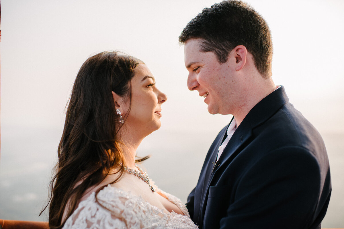 Hot Air Balloon Elopement Marie Monforte Photography-153