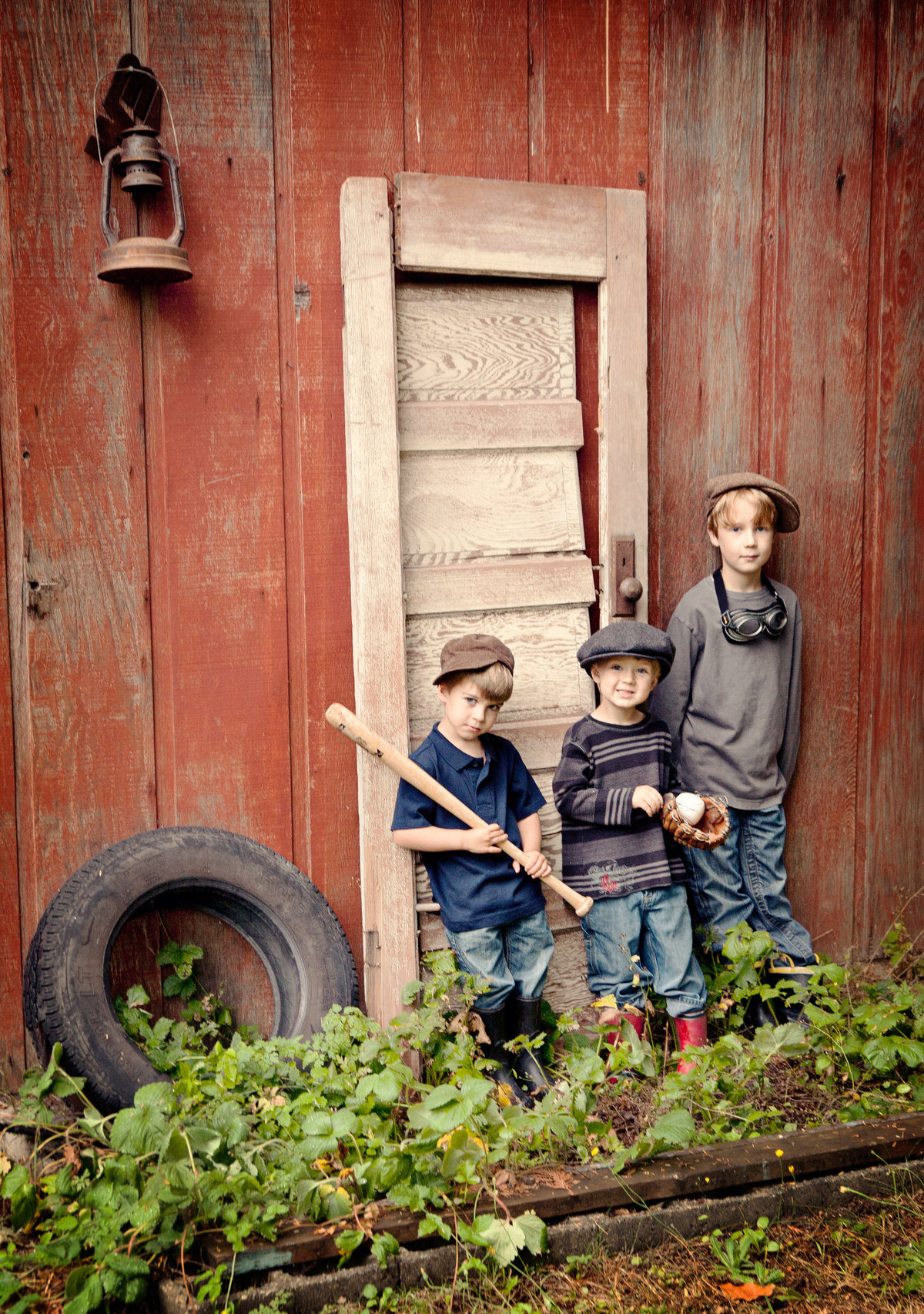 Fine Art Children's photography-boys baseball gang
