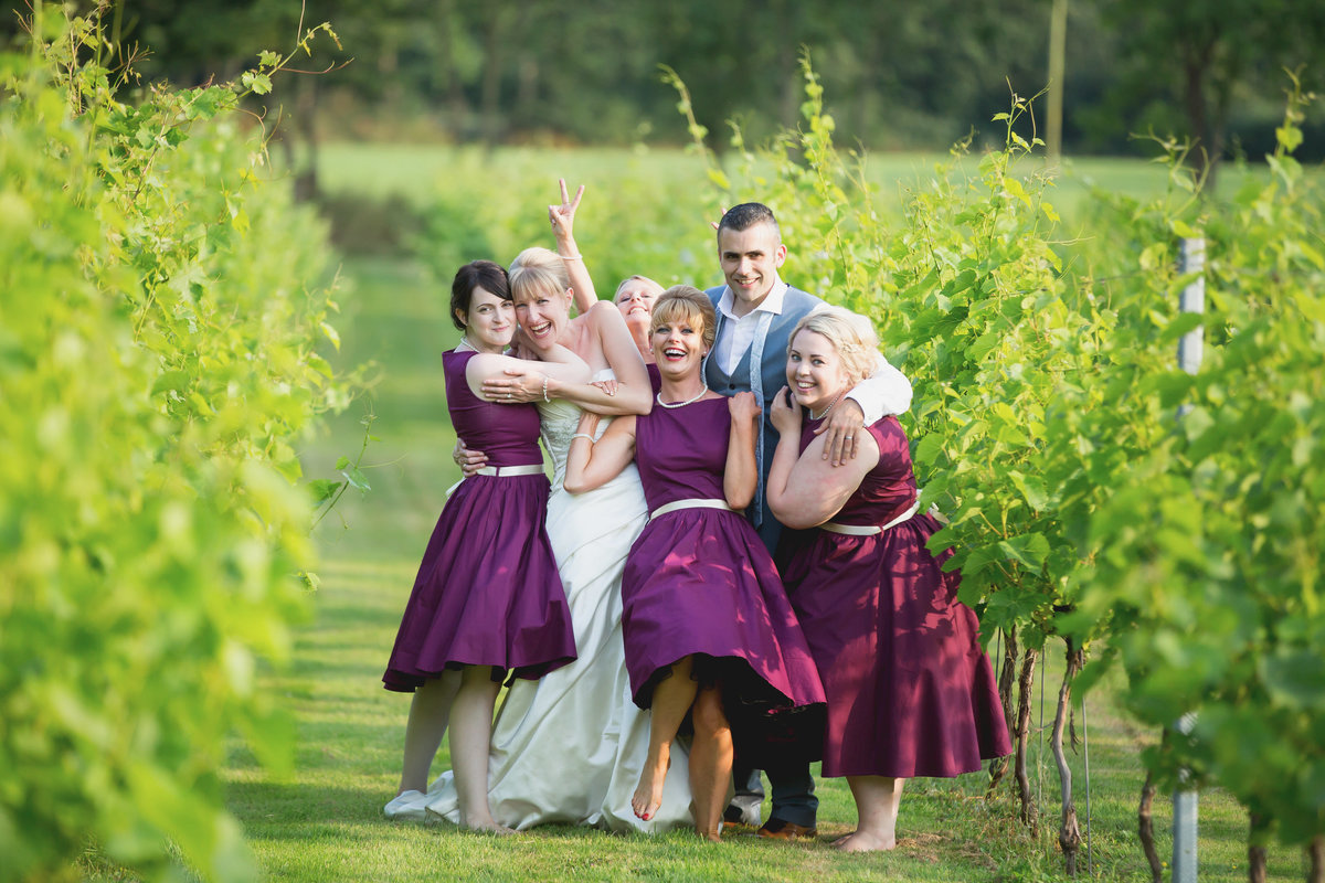 froginwell vineyard exeter weddomg