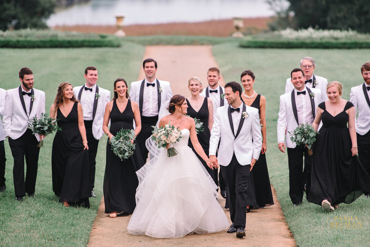 Middleton Place Wedding Photography - Charleston Wedding Photograph Bridal Party