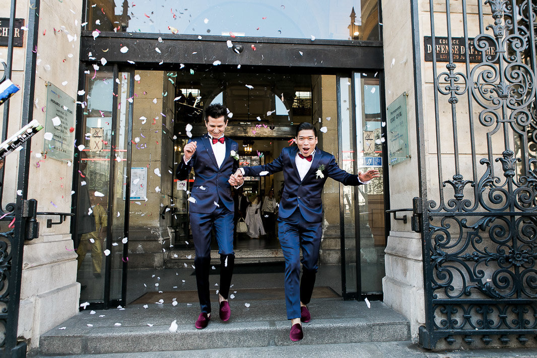 Gay wedding France