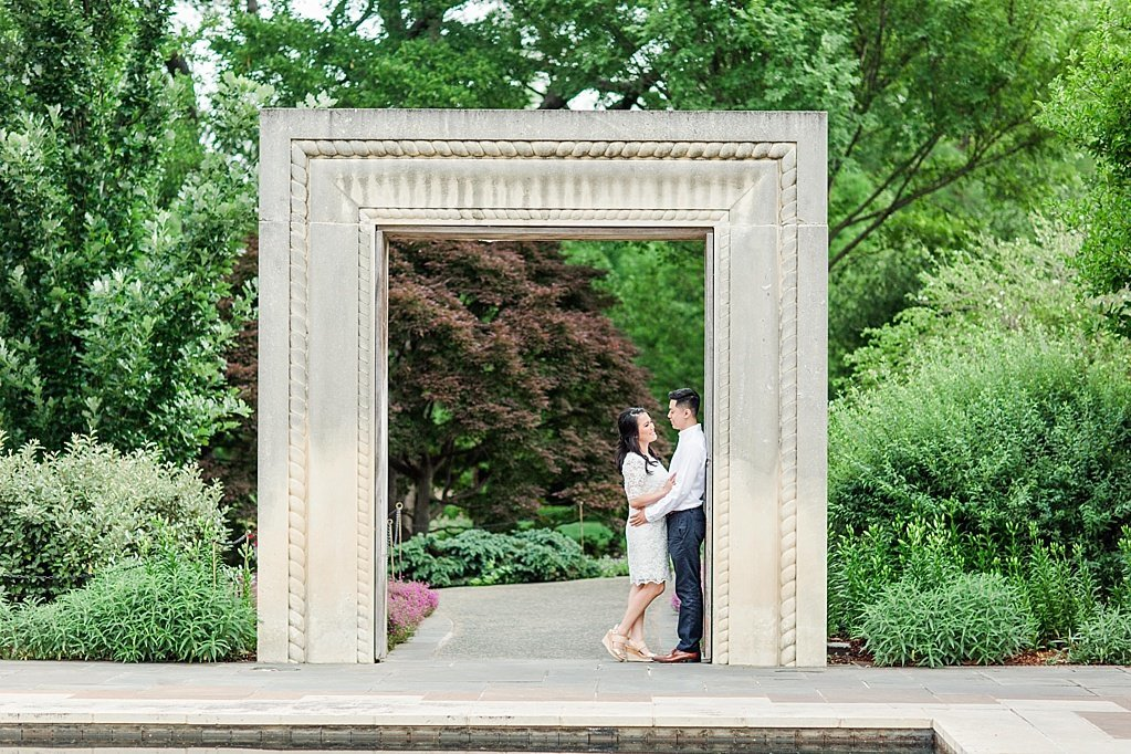 An Elegant Spring Engagement Session at the Dallas Arboretum and Botanical Gardens  by Allison Jeffers Wedding Photography_0036