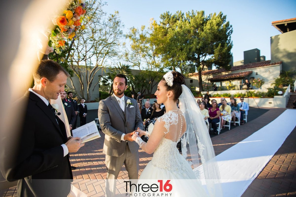 Tustin Ranch Golf Club Wedding ceremony