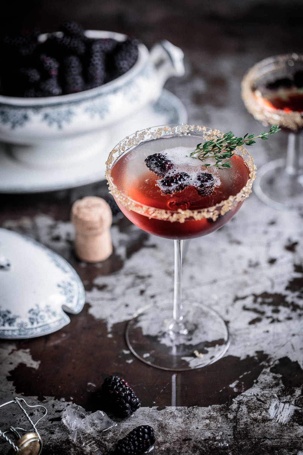 Blackberry and Thyme Fizz | Chandon | Anisa Sabet | The Macadames-201
