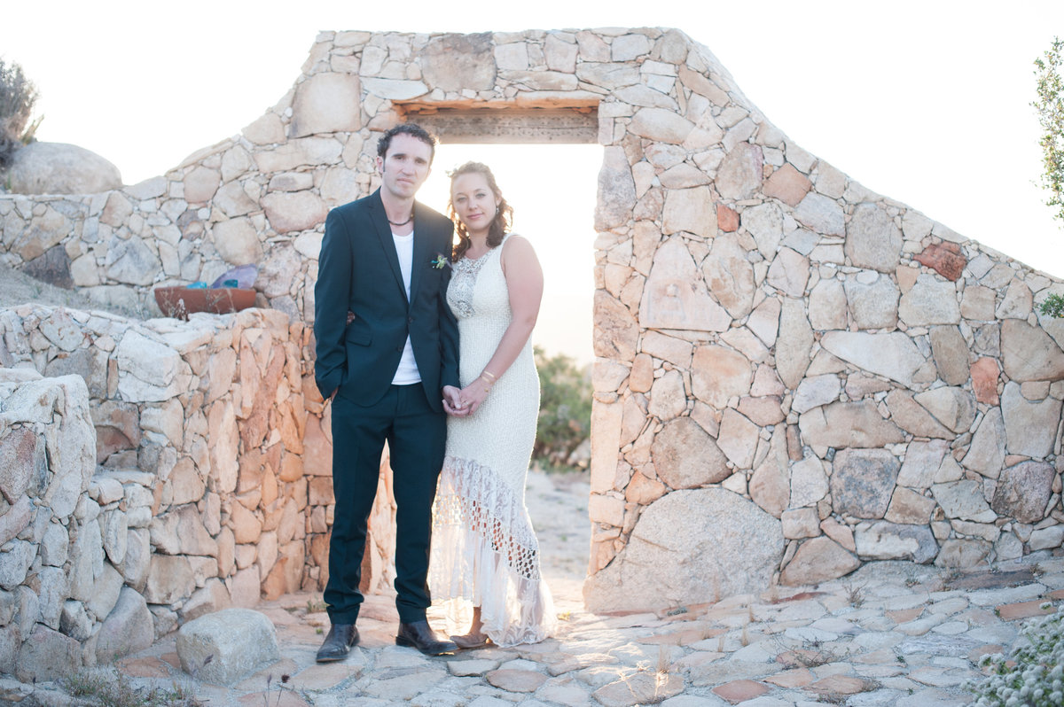 Destination Wedding Photography Joshua Tree Wedding Photography Le Haut Desert Aerie085