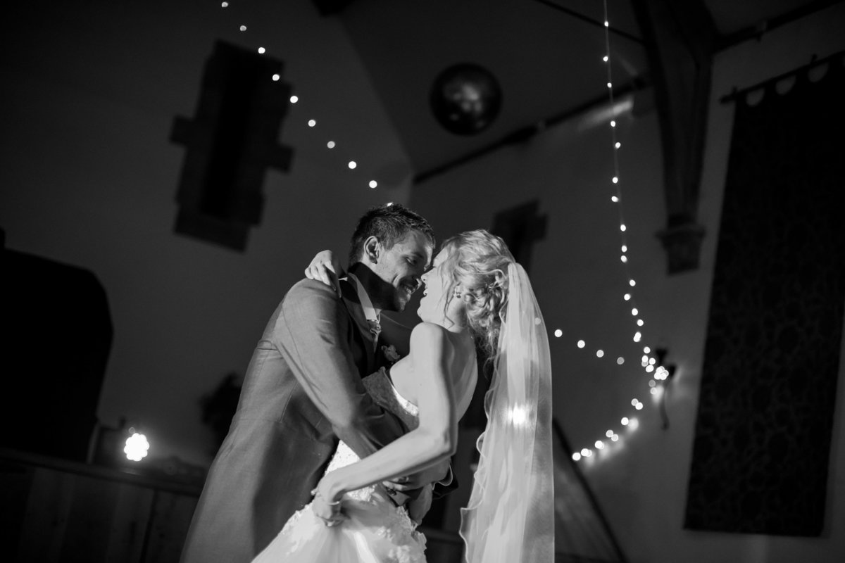 first dance wedding photo