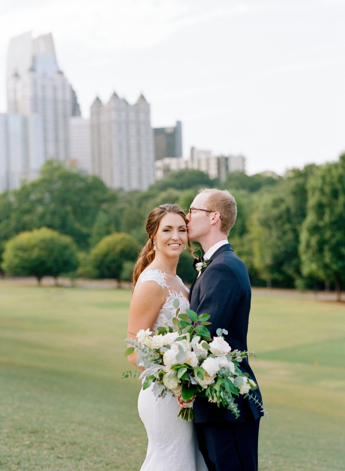 Romantic Wedding Piedmont Park