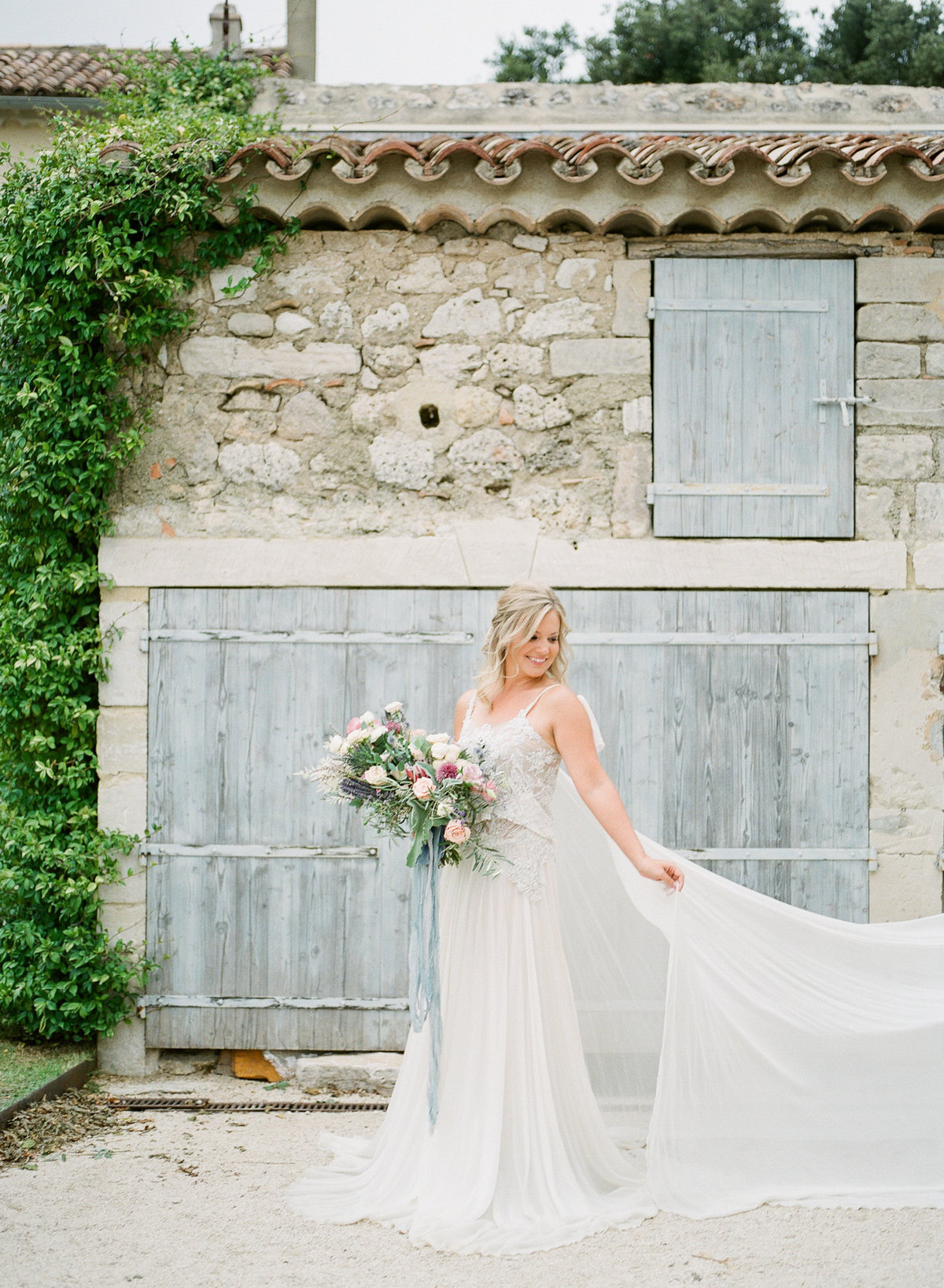 Domaine de Sarson Provence France Wedding-58