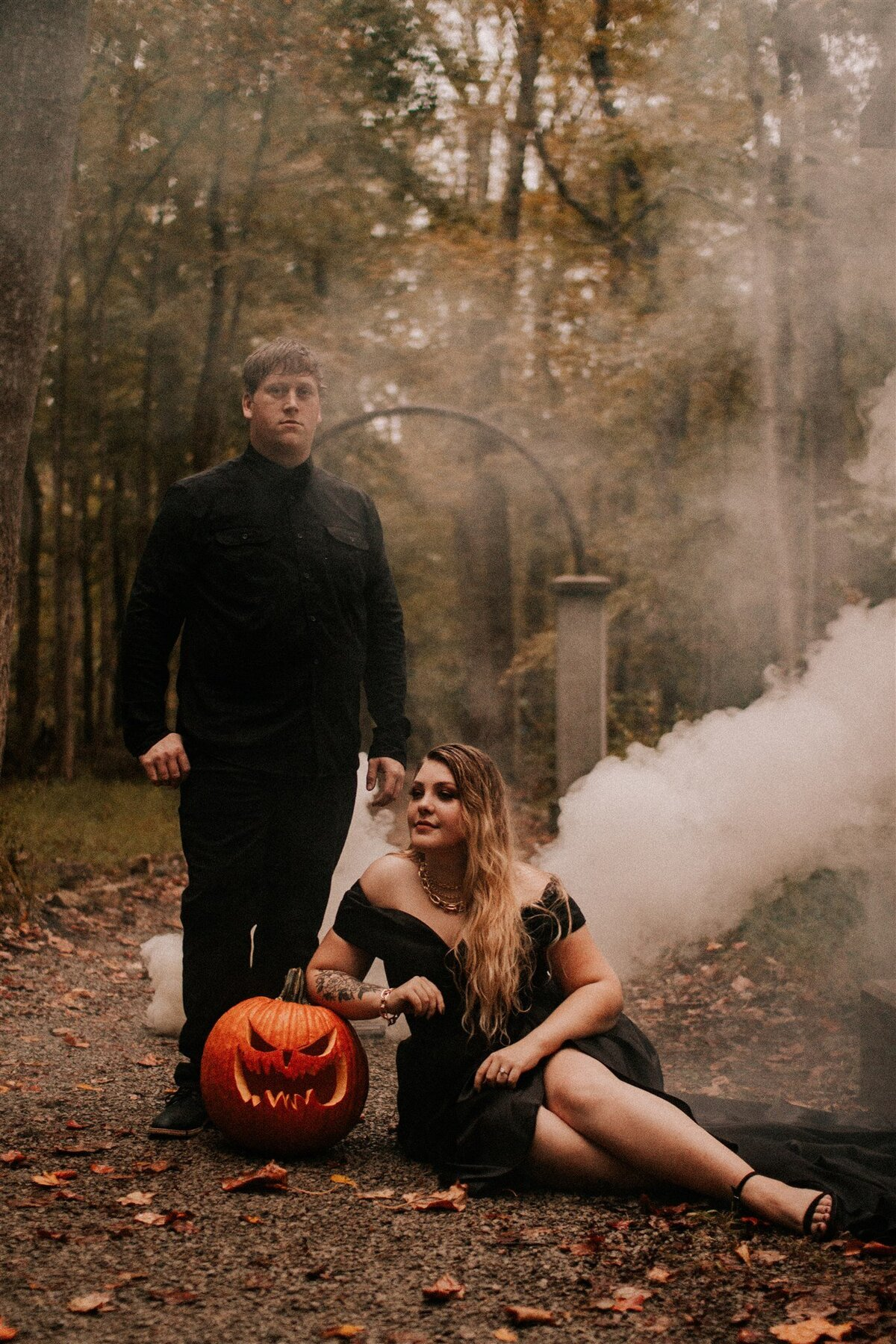 Brizzy-Rose-and-Emma-Rose-Island-Charlestown-Spoopy-Engagement-Session-17