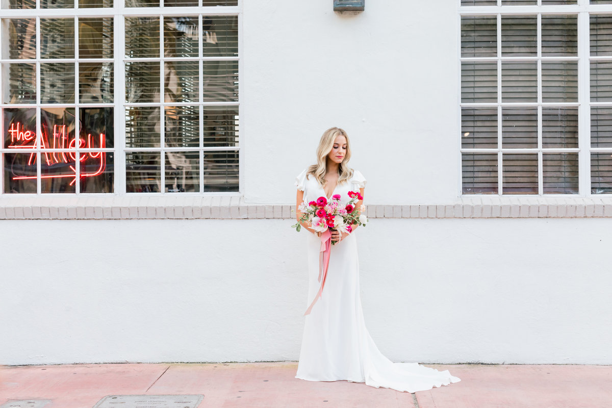 Miami Beach Bride - Photographed by Erica Melissa
