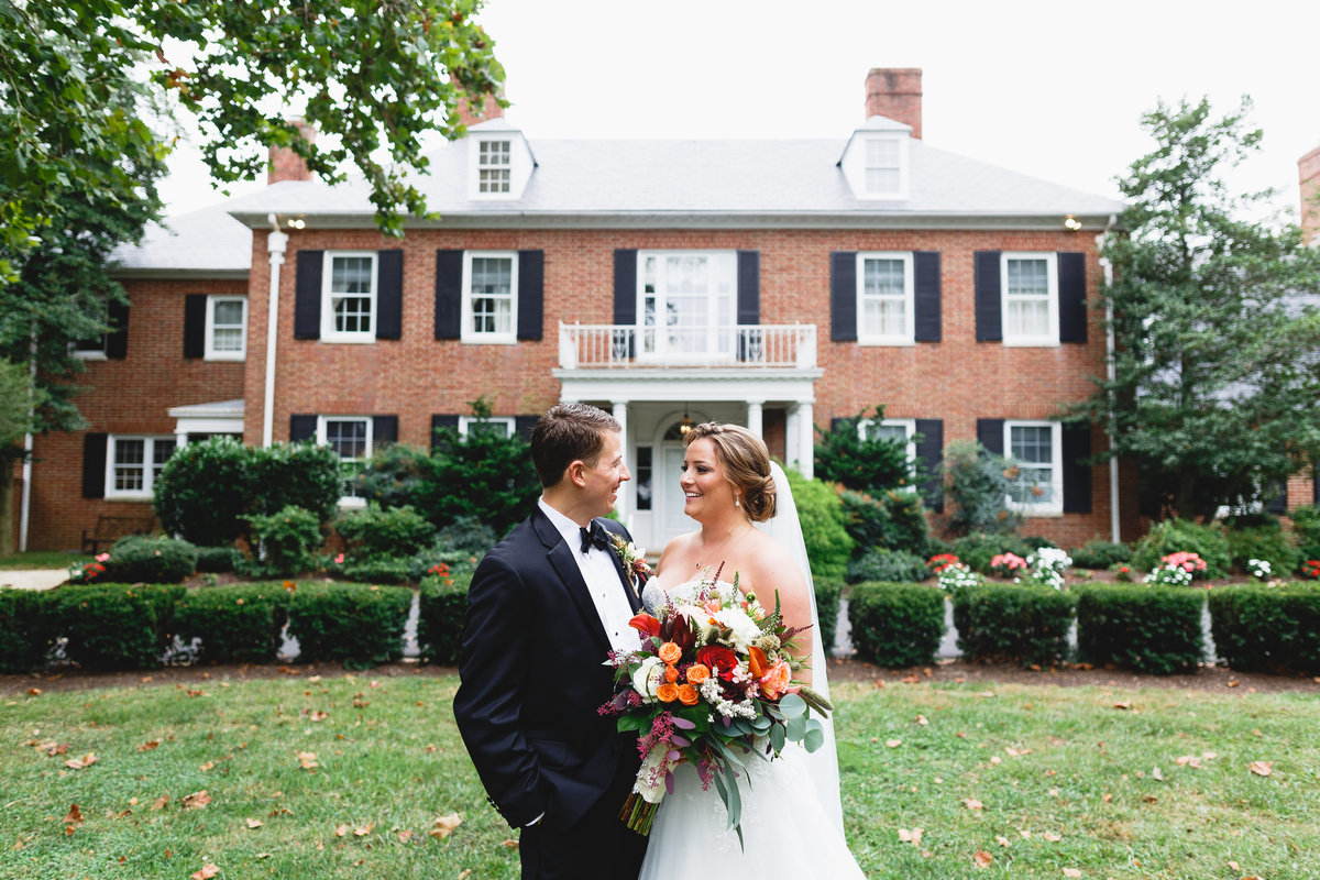 Maryland Wedding Photographer Brittland Manor Ceremony Tented Reception 044