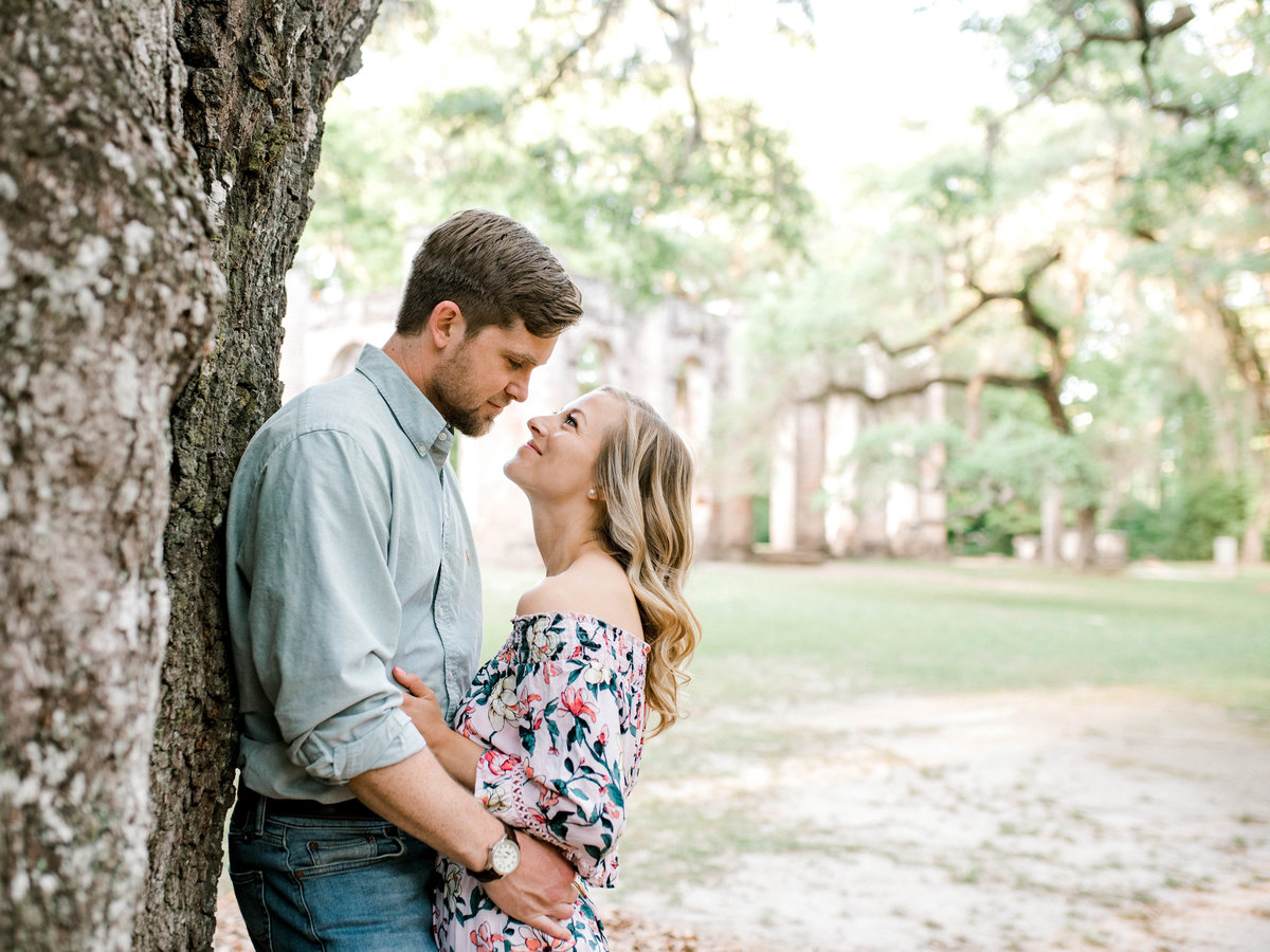 Low Country engagement  photos
