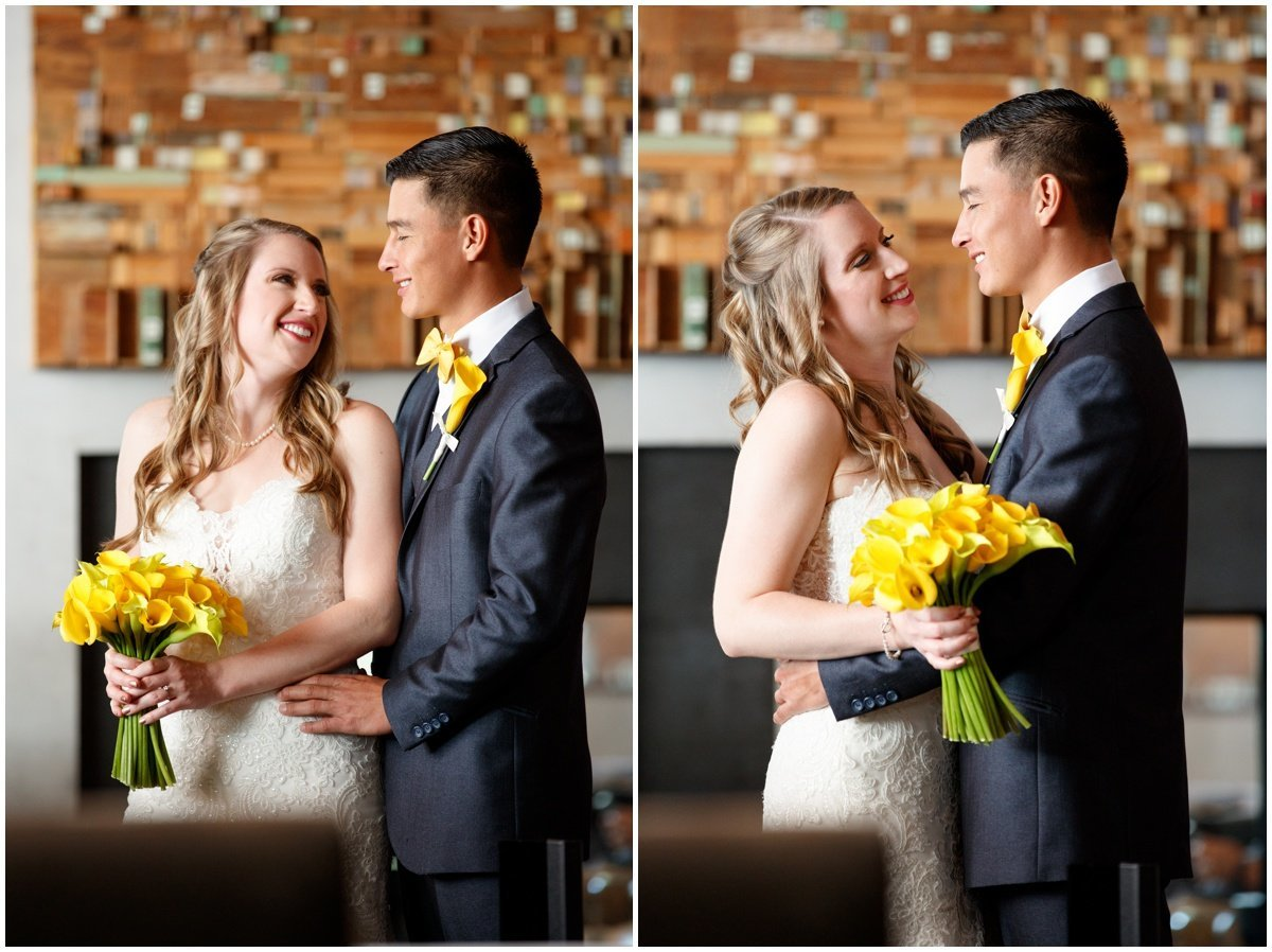 Austin wedding photographer w hotel wedding photographer bride groom cute collage