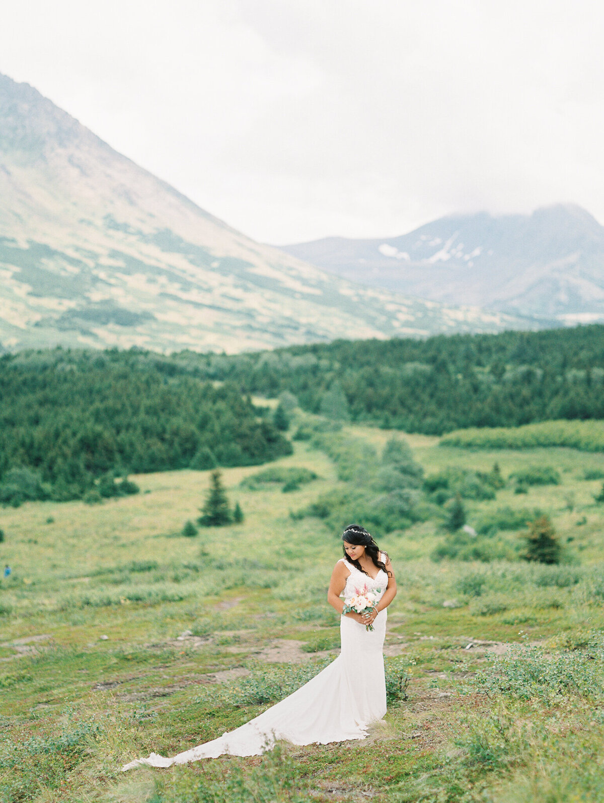 Flattop bride film wedding photographer