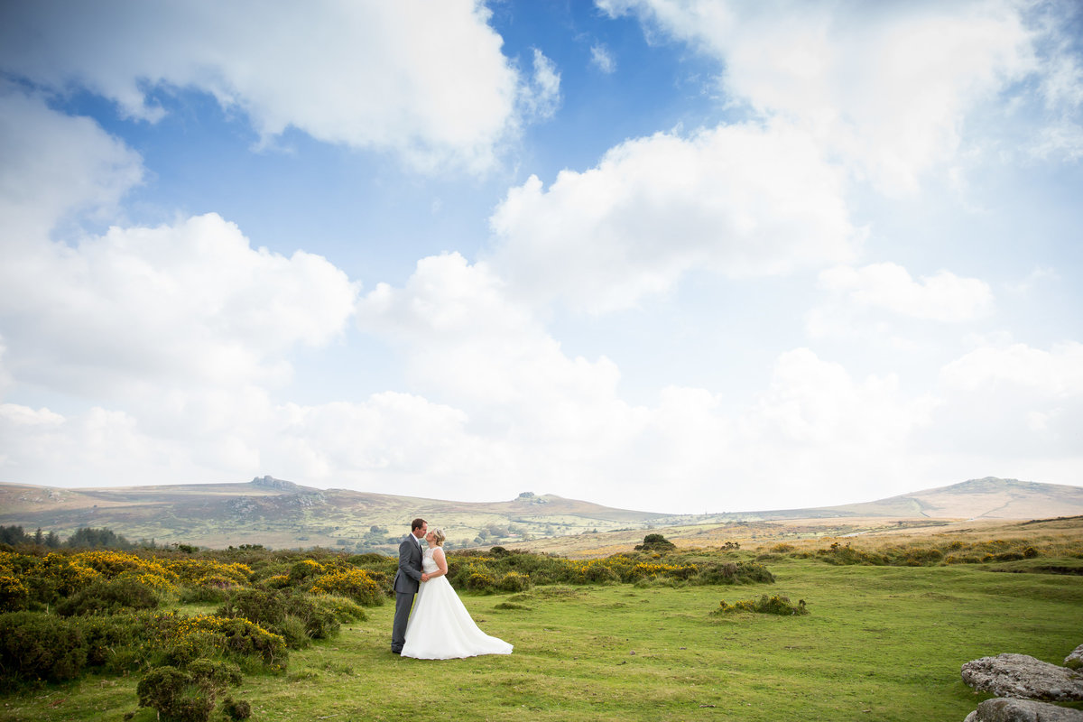 wedding photography on dartmoor
