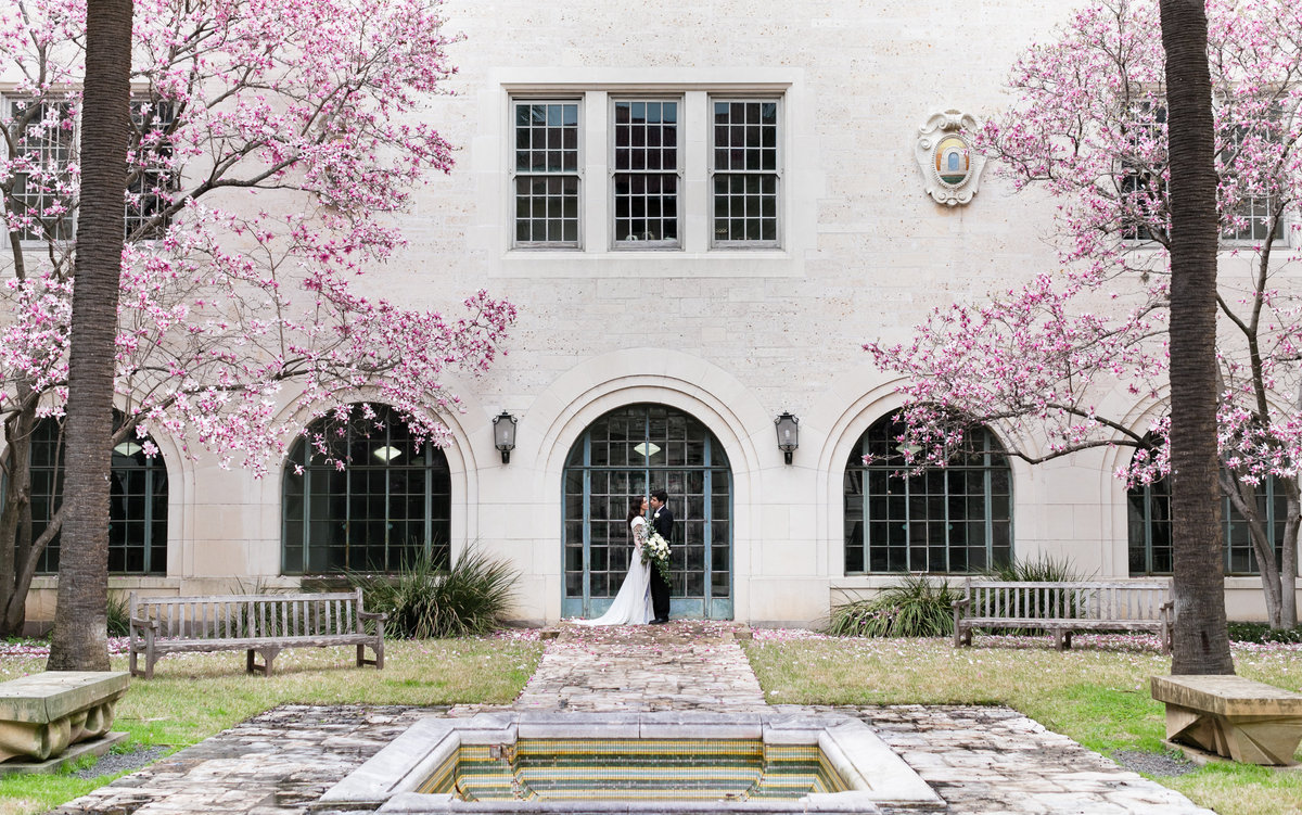 University of Texas Wedding Photograph