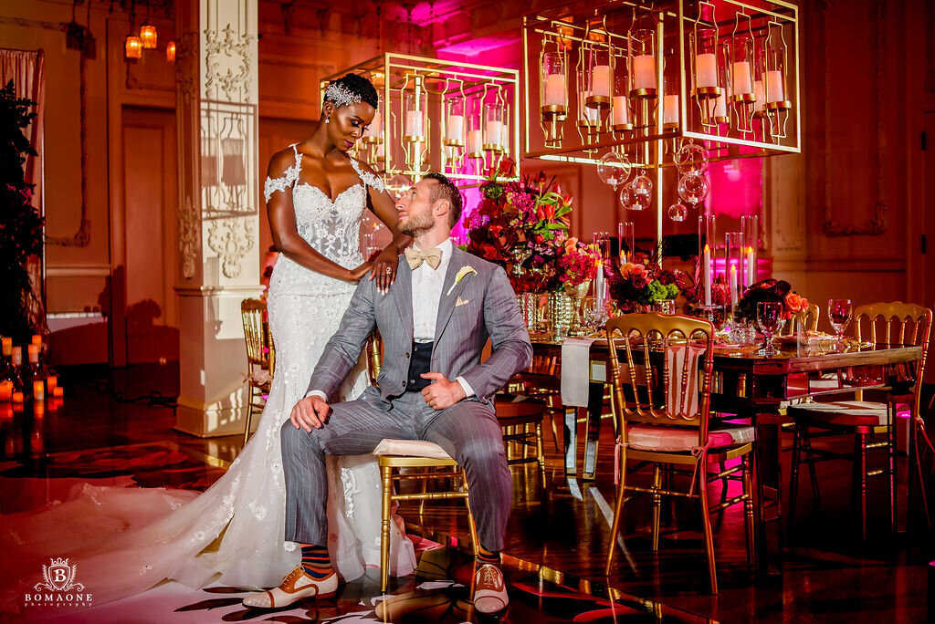 Black Wedding Planner Dallas Scottish Rite Wedding Nigerian Wedding Planner Dallas (164)