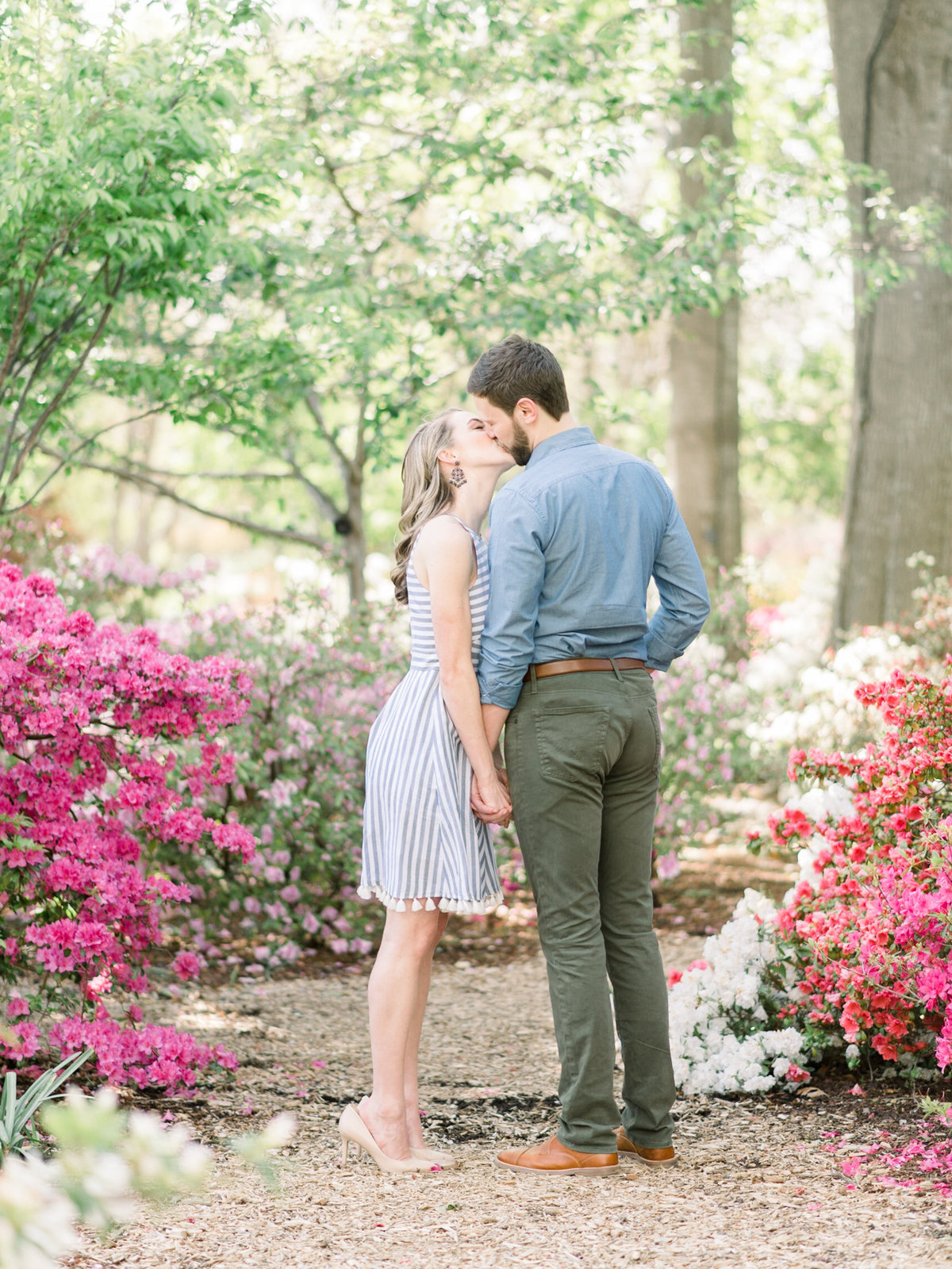 Courtney Hanson Photography - Dallas Spring Engagement Photos at Dallas Arboretum-2672