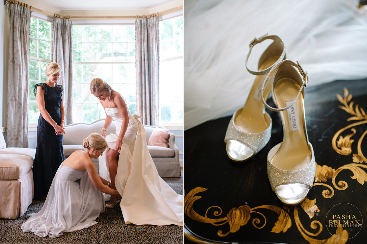 Charlotte Country Club Wedding by top Charlotte Wedding Photographer Pasha Belman  - Caroline and Dvaid