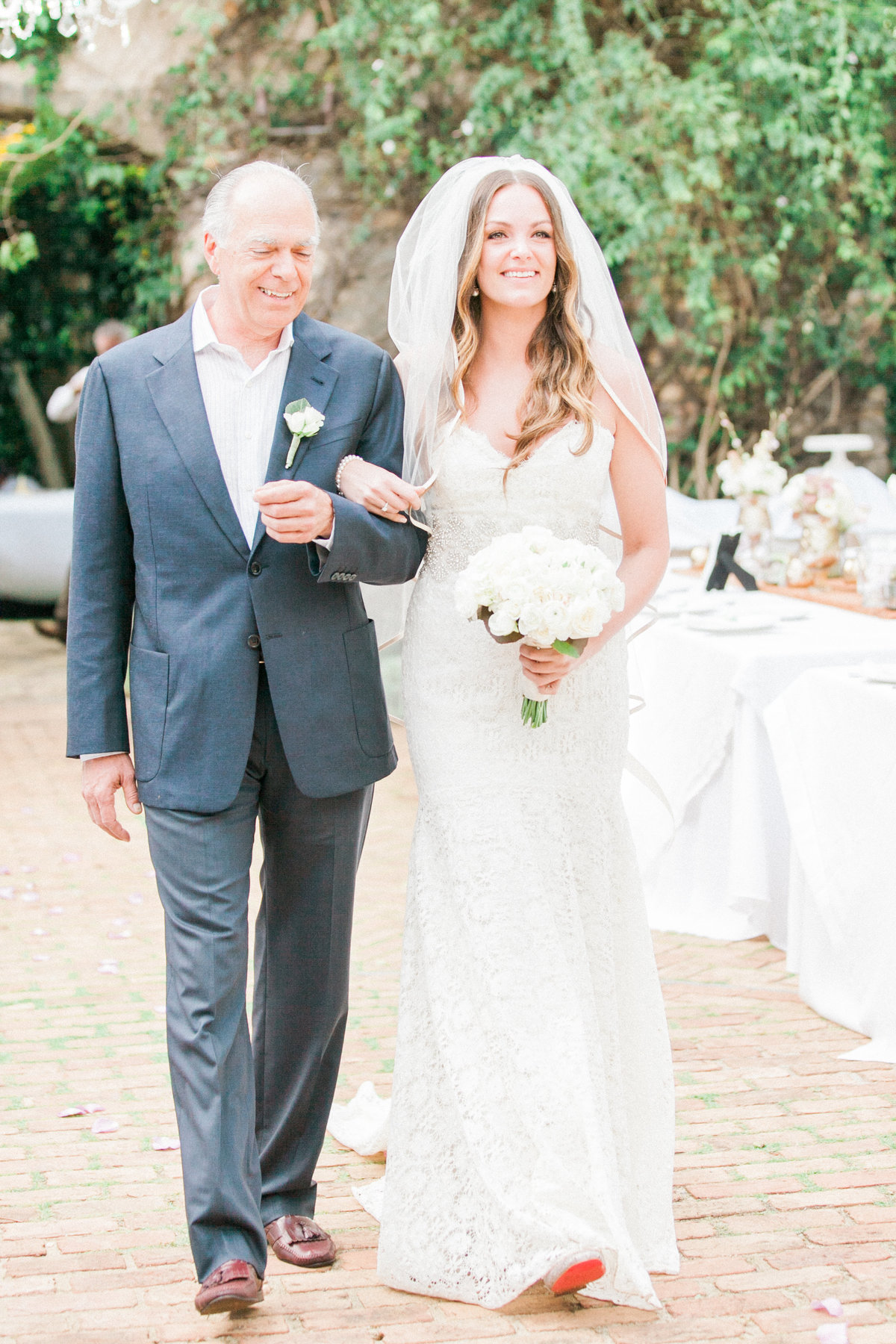 French Country Wedding Ceremony