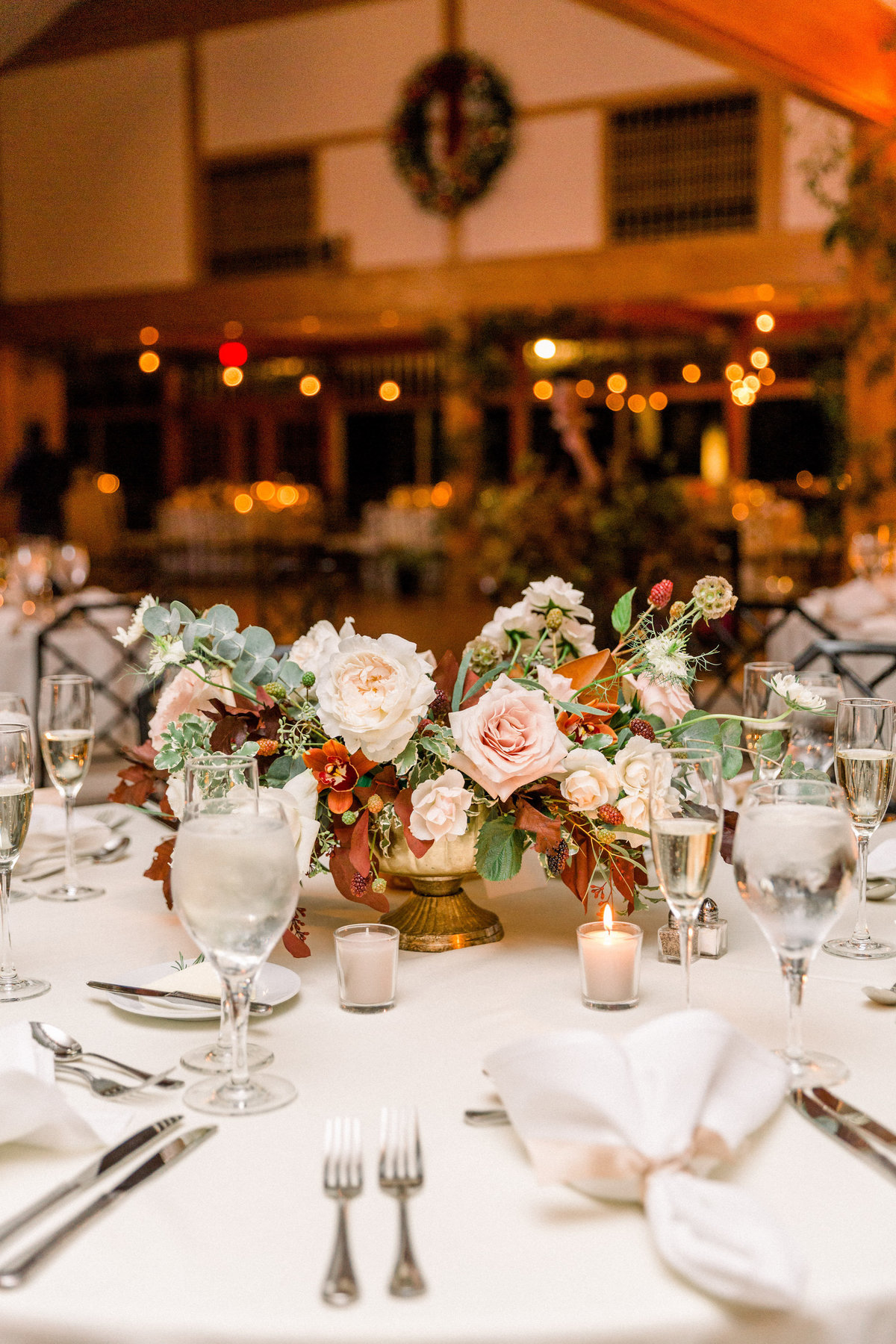 Winterthur wedding centerpiece florist