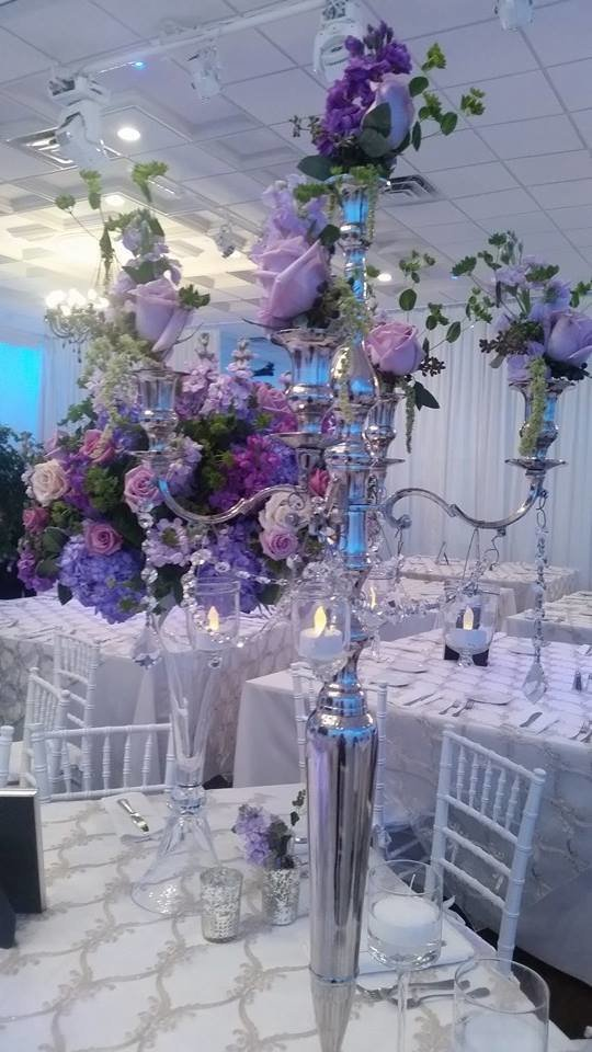 Purple whimsical decor