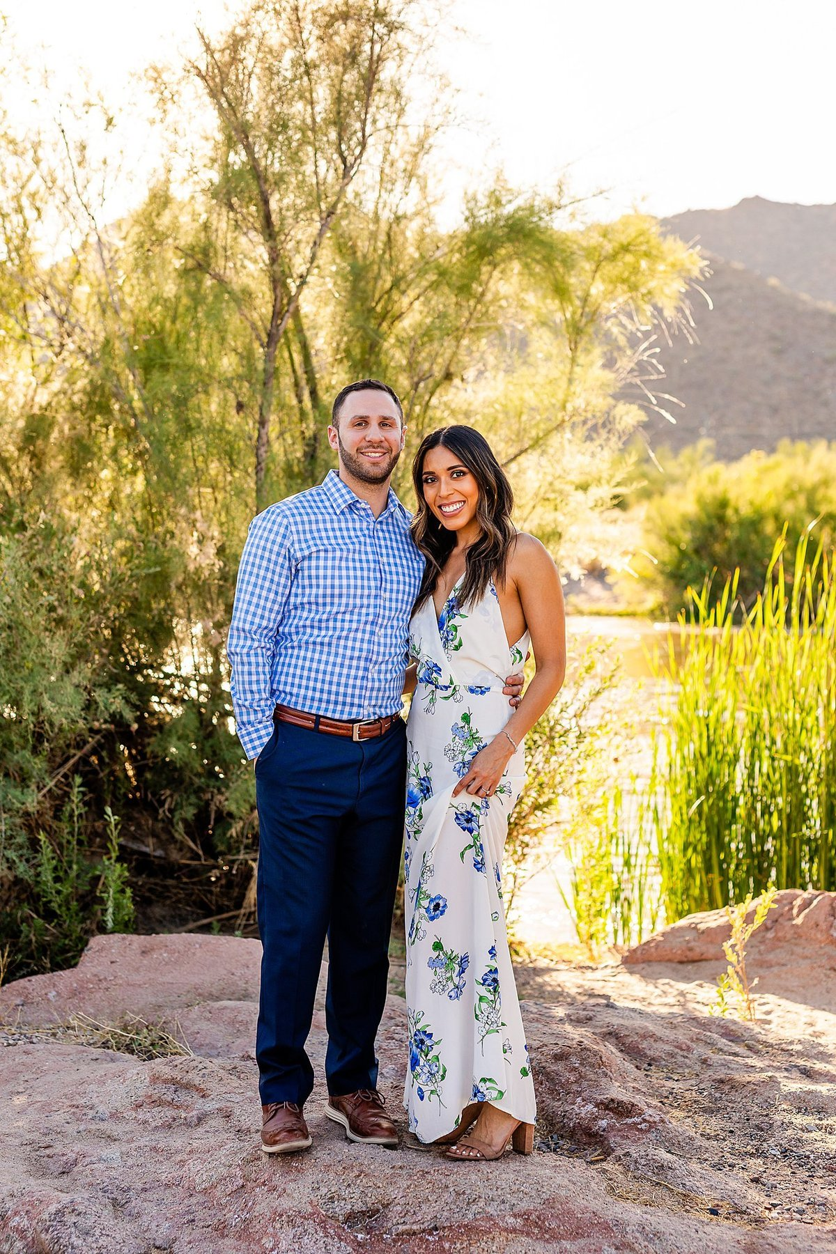Celina + Colton - Engagement - Salt River Engagement Session-1_Lunabear Studios Portfolio