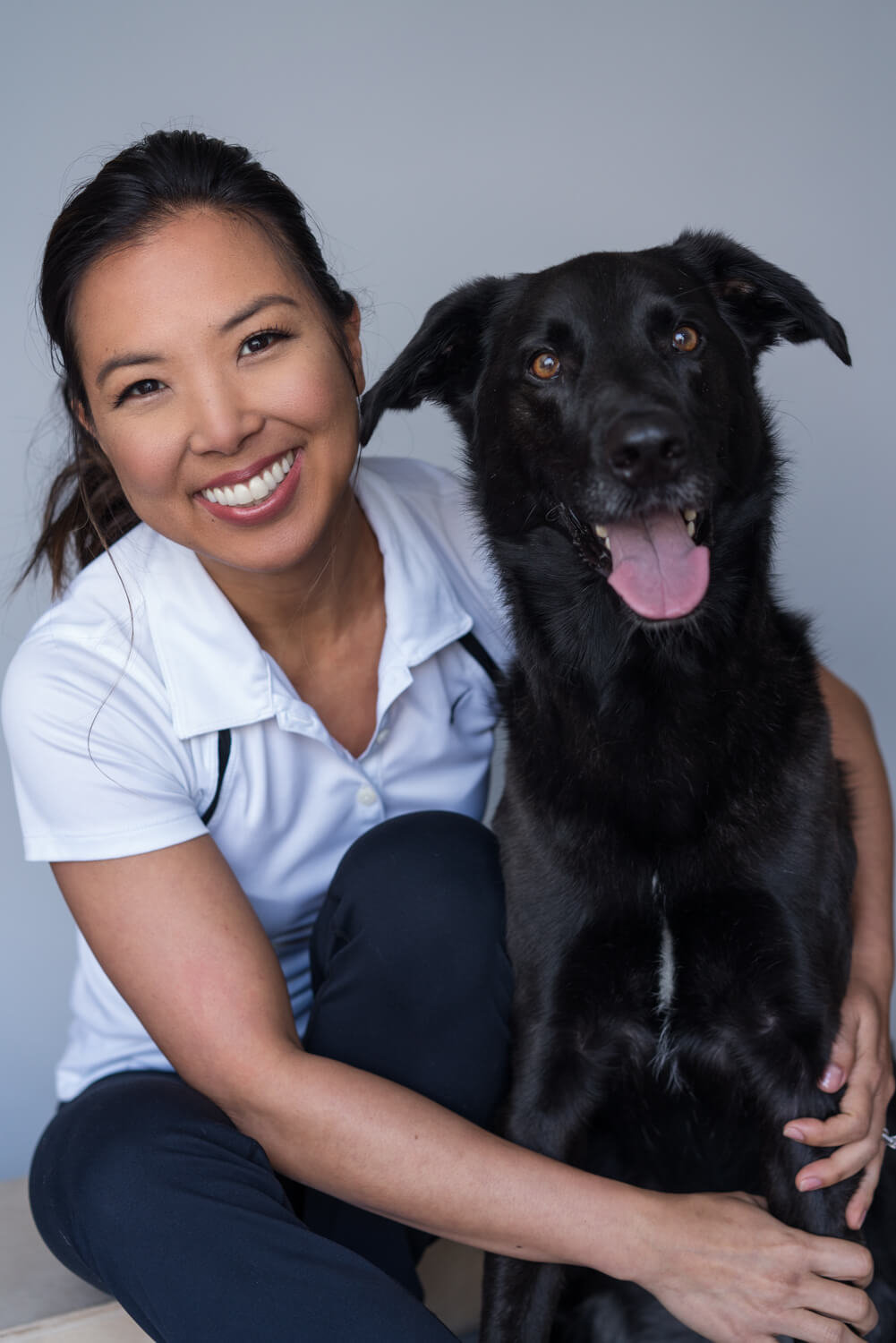 Personal Branding Portrait with Dog