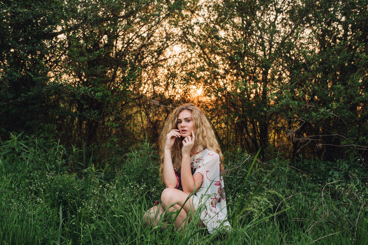 Birmingham, AL, sunset portrait session