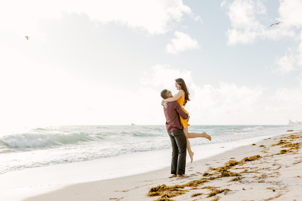 Sunny Isles Beach Engagement Photography Session 5
