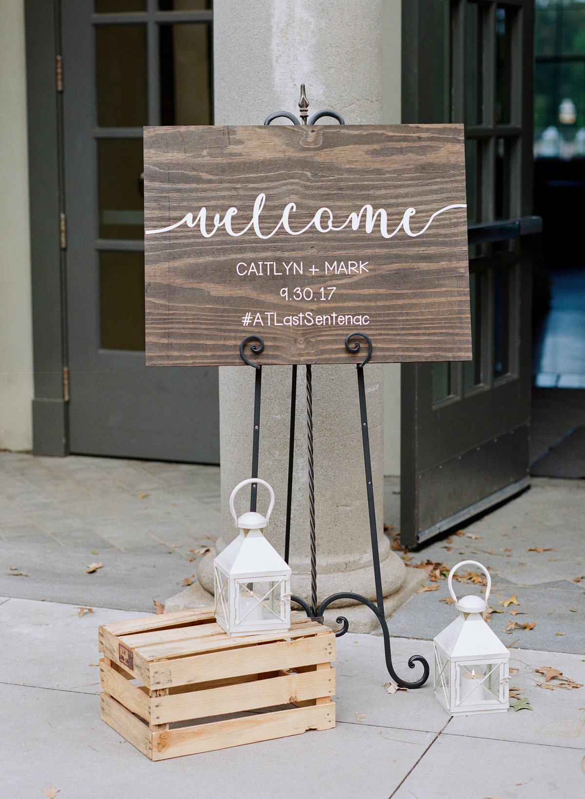 Ceremony Signs Greystone at Piedmont Park Wedding