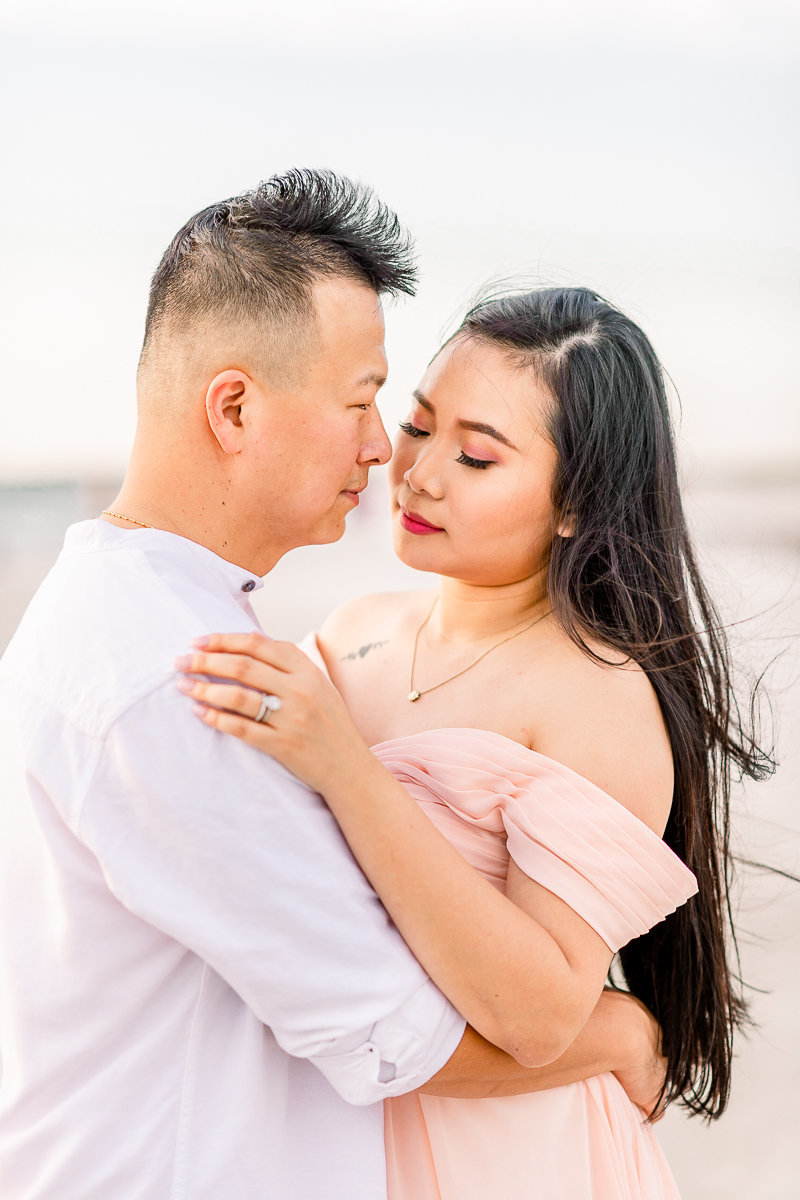 Tampa Wedding Photographer | Tampa Engagement | Beach Engagement-3