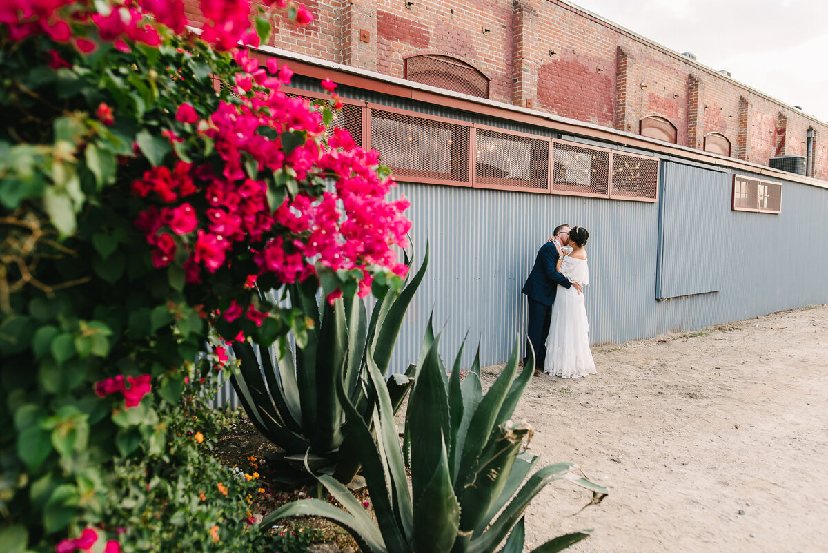 The Mitten Building Wedding Photographer Redlands CA