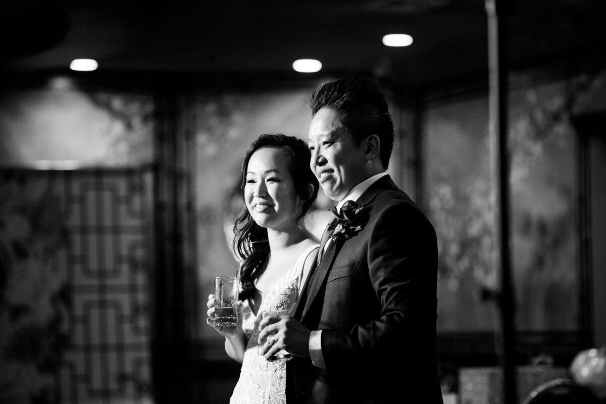 bride and groom toast speech.