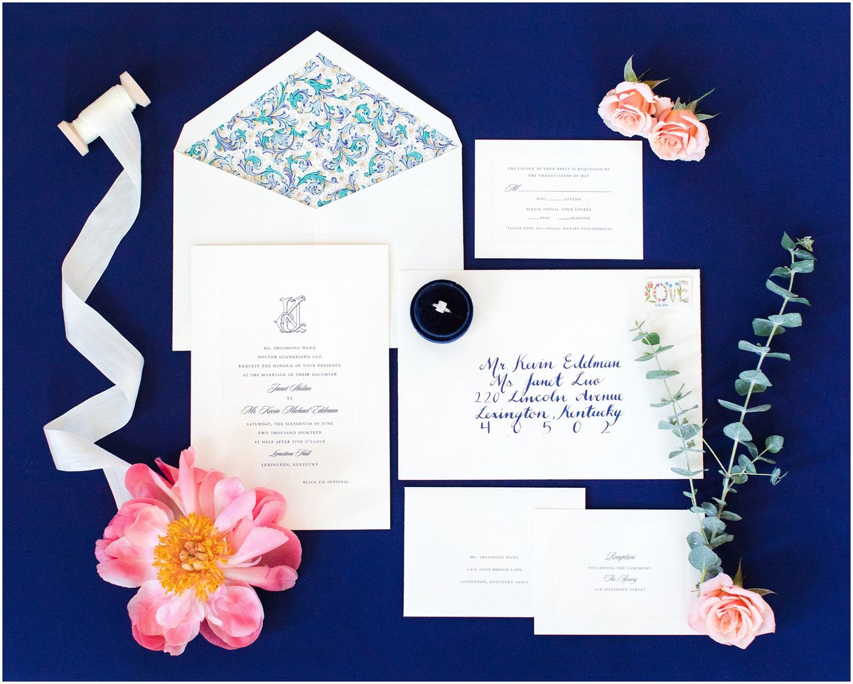 Wedding Invitation Suite by Kevin and Anna Photography