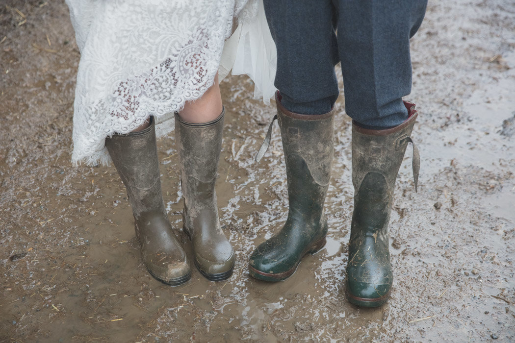 Wet Welly Wedding photo
