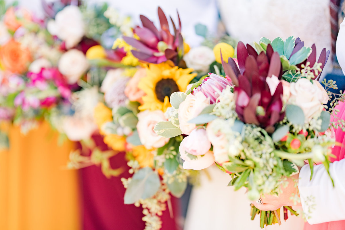 Urban Artifact Brewery Colorful Fall Wedding-100
